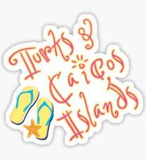 Turks and Caicos Island Sticker