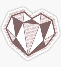 All Heart Gillian 2017 Sticker