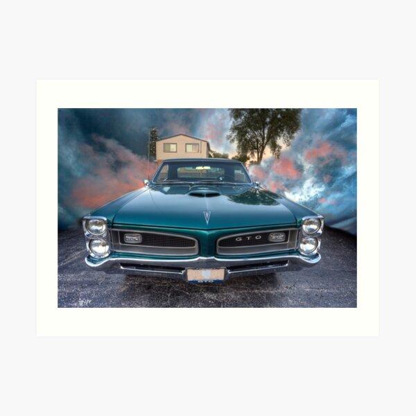 1966 GTO Pontiac Art Print