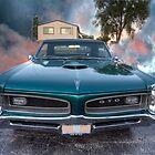 1966 GTO Pontiac by Adam Bykowski