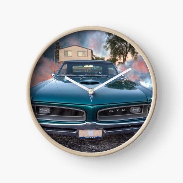 1966 GTO Pontiac Uhr