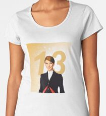 The Thirteenth Doctor Women's Premium T-Shirt