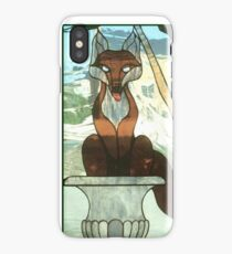 """You Sly Devil, You..."" iPhone Case/Skin"