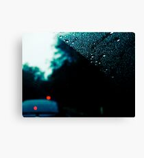 rainy day commute 2 Canvas Print