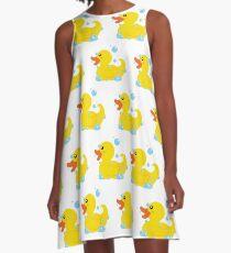 Quack Quack A-Line Dress