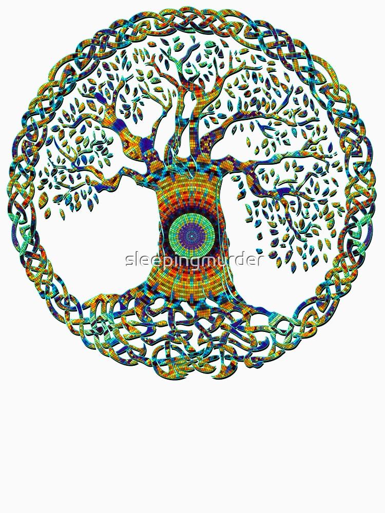 TREE OF LIFE - bright mosiac    *find unlisted gems in my portfolio* by sleepingmurder