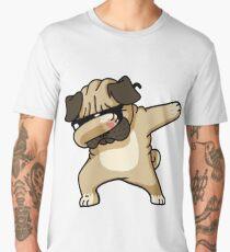 Dabbing Pug Funny - Dog Lovers Men's Premium T-Shirt