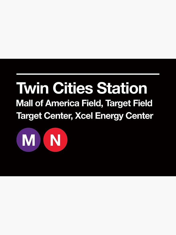 Twin Cities Pro Sports Subway Sign by phoneticwear