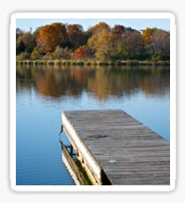 Fall Dock Sticker