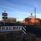 Barleyfields Level Crossing & Gatekeeper's Cottage, Uralla by Kitsmumma