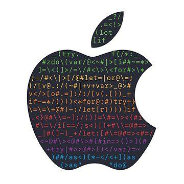 WWDC 2016 ASCII Logo (Pride Version, Large Font Size) by kentliau
