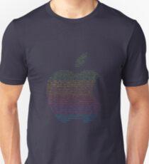 WWDC 2016 ASCII Logo (Pride Version, Small Font Size) T-Shirt