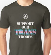 Support Our Transgender Troops  T-Shirt