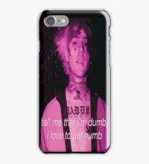 Lil Peep Right Here iPhone Case/Skin