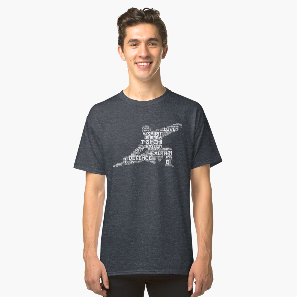 Tai Chi Words Classic T-Shirt Front