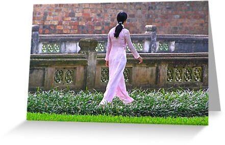 Temple of Literature, Hanoi by Traveldreams