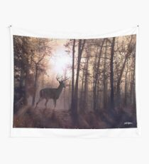 Foggy Morning in Missouri Wall Tapestry