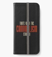 Cannibalism  iPhone Wallet/Case/Skin