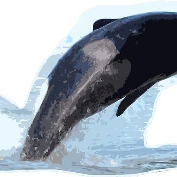Orca-breach by BlueNorth
