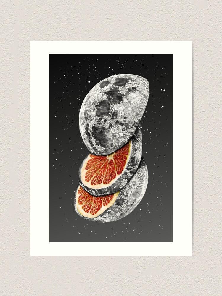 Alternate view of LUNAR FRUIT Art Print