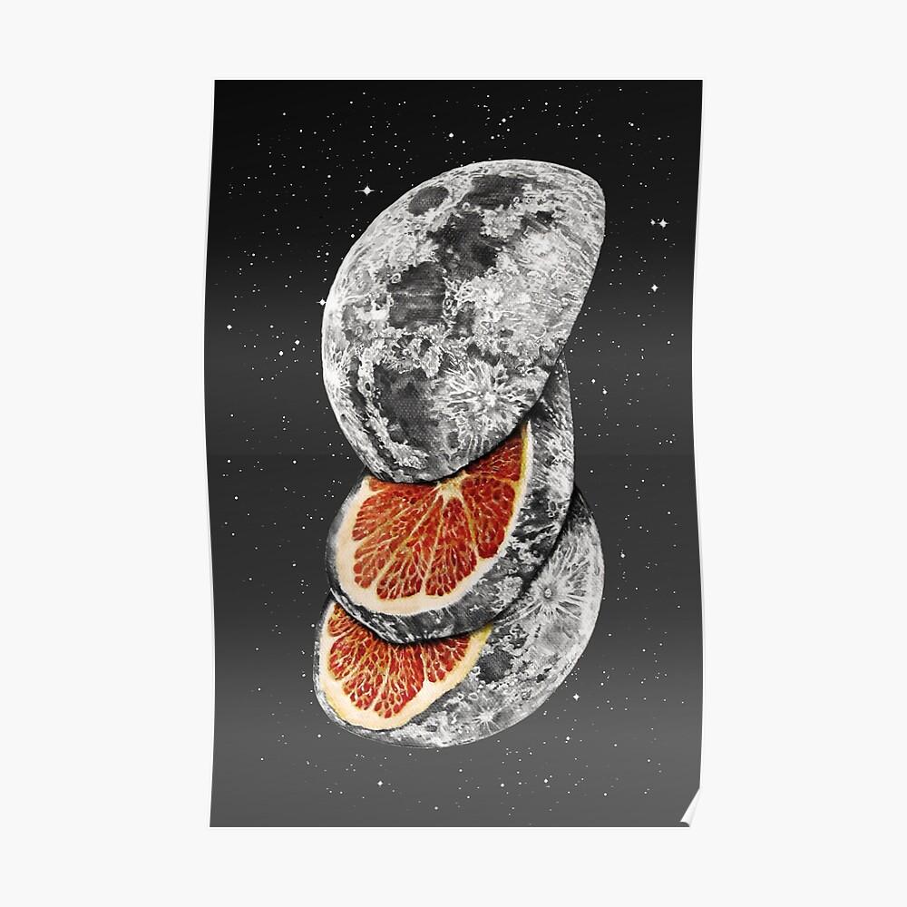 LUNAR FRUIT Poster