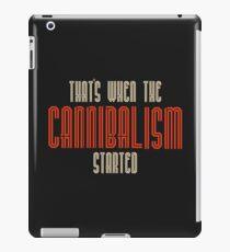 Cannibalism  iPad Case/Skin