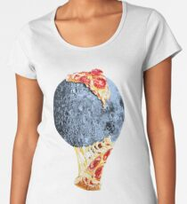 When the moon hits your eye... Women's Premium T-Shirt