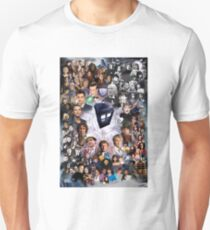 Doctor Who – Doctors and Companions Poster T-Shirt