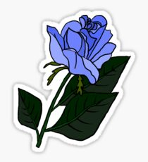 Blue Rose (Twin Peaks) Sticker