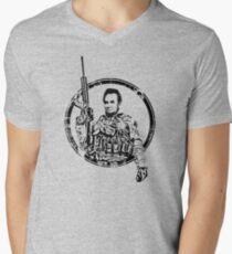 Tactical Abe Men's V-Neck T-Shirt