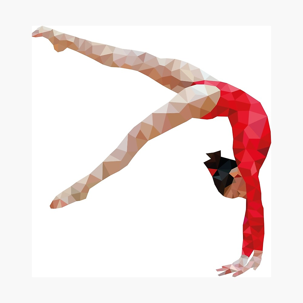 Polygymnast Fotodruck