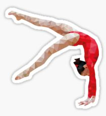 Poly Gymnast Sticker