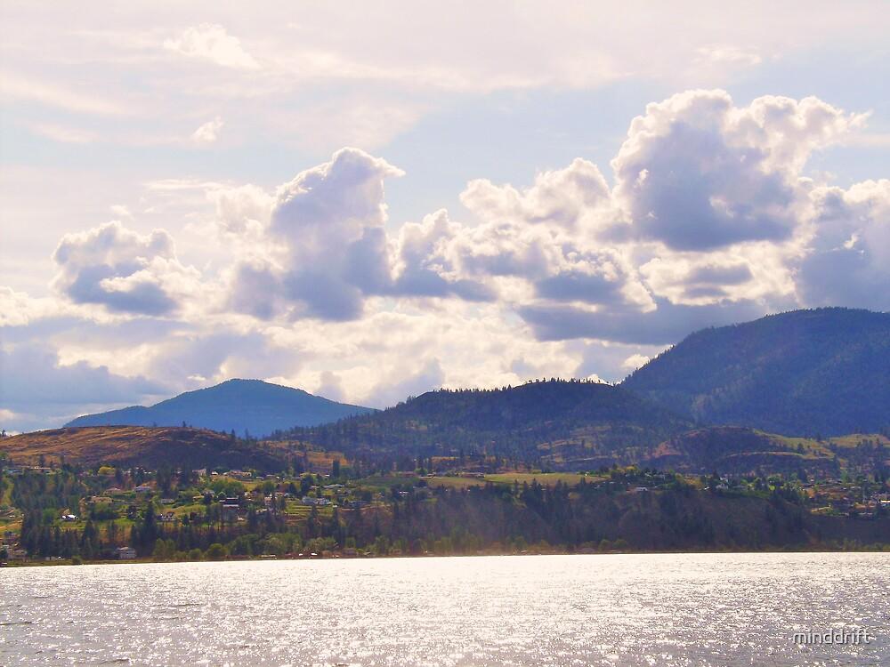 Cloudy, but beautiful. by minddrift