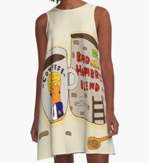 Bad Hombres Blend A-Line Dress