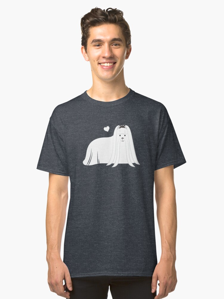 Maltese Dog Classic T-Shirt Front