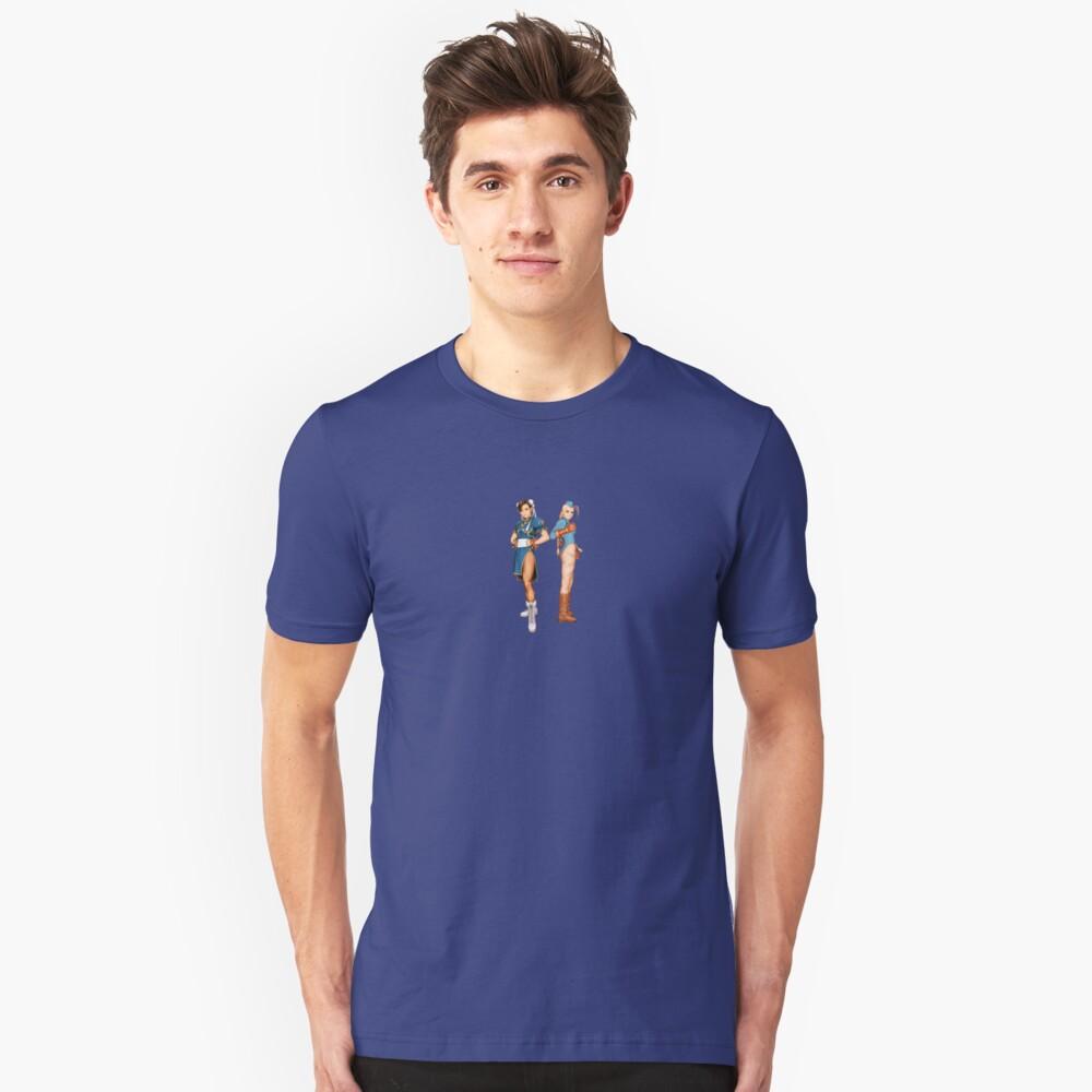Street Fightin' Gals Unisex T-Shirt Front