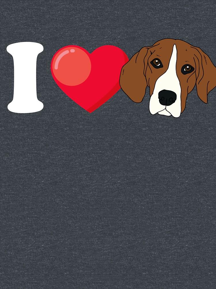 I Love Beagle by Phoenix23