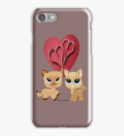 Cats ( 6884 Views) iPhone Case/Skin