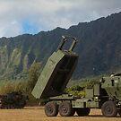 Ein hochmobiles Artillerie-Rocket-System der US-Marine-Korps-M142. von StocktrekImages