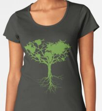 Earth Tree Women's Premium T-Shirt