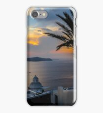 Fira sunset Santorini iPhone Case/Skin