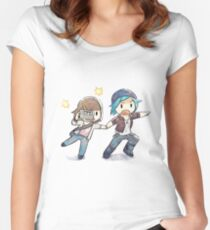 Life is Strange The Chase Women's Fitted Scoop T-Shirt