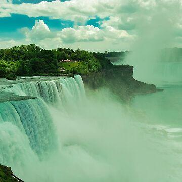 Niagara falls  by Ismart