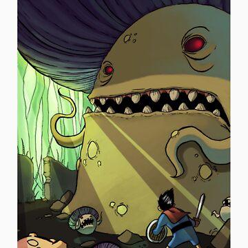 Mushroom King Battle by Cgoose