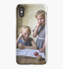 Kids vintage iPhone Case/Skin