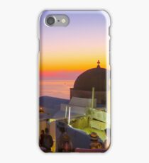 Sunset in Oia,Greece iPhone Case/Skin