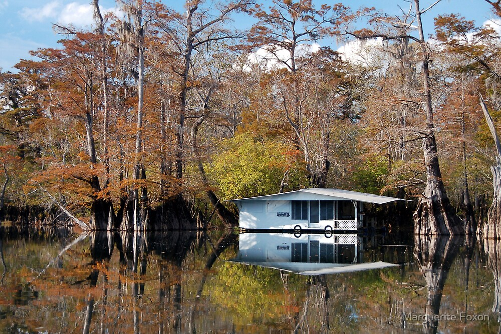 Houseboat in the Middle of Nowhere by Marguerite Foxon