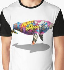 Tagged Whale Graphic T-Shirt