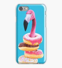 A Famished Flamingo iPhone Case/Skin