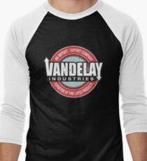 vandelay Men's Baseball ¾ T-Shirt